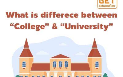 """ความแต่งต่างระหว่าง มหาวิทยาลัย และ วิทยาลัย ในประเทศจีน What is differece between """"College"""" & """"Universtiy"""""""